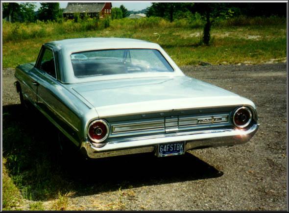 64 Ford Galaxie Transmission