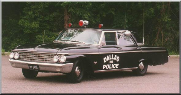 Ford Galaxie Dallas Police Car