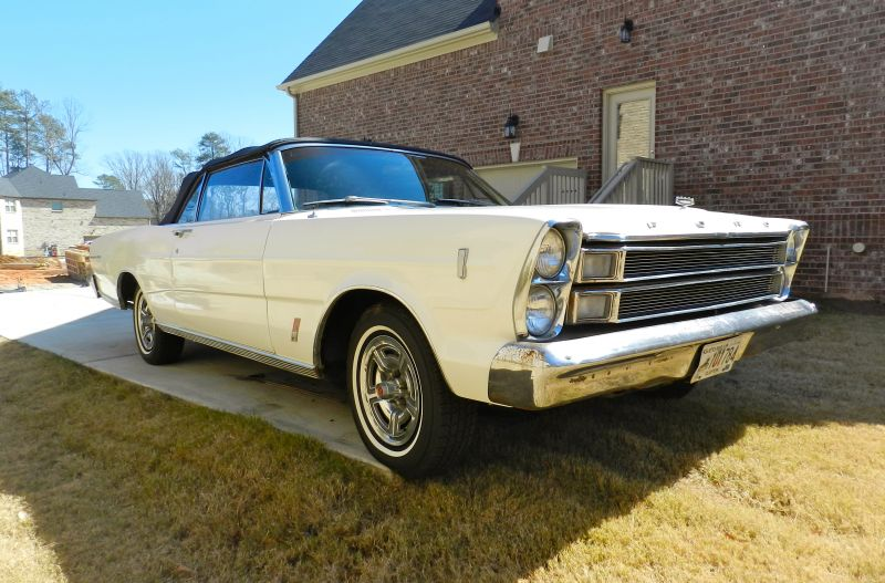 1966 Galaxie 500 Convertible 390ci numbers matching 4 bbl carb. Solid ...