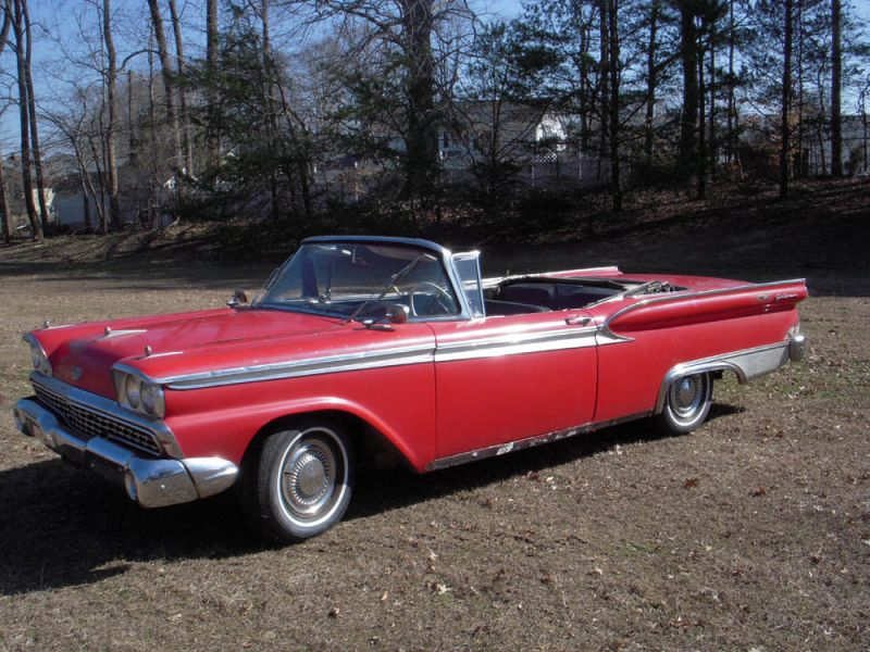 1959 ford fairlane 500 galaxie convertible for sale. Cars Review. Best American Auto & Cars Review