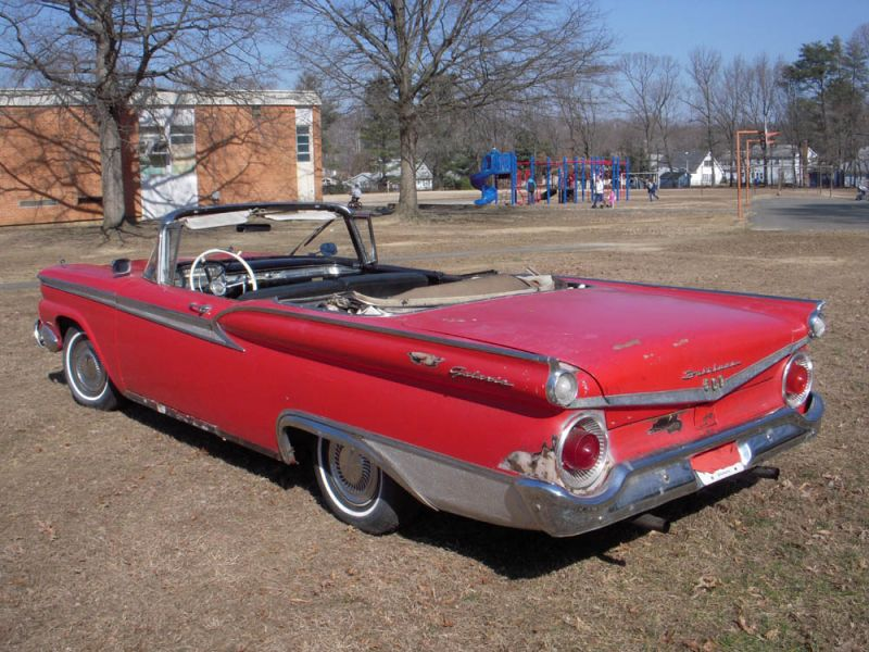 1959 Ford Fairlane 500 Galaxie convertible for sale