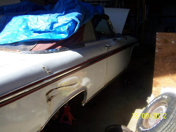 sold 1962 ford galaxie sunliner convertible for sale $ 2000 firm the ...