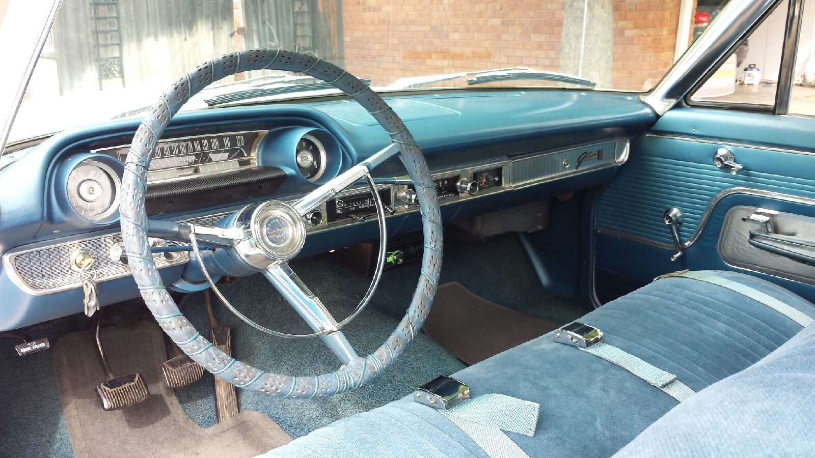 1963 ford galaxie 289 - 1963 1 2 Ford Galaxie 500 Fastback For Sale 75 000 Original Miles Rebuilt 289 Engine 2 Owner 3 Speed Manual Column Shift Seats Reupholstered New Paint All